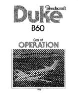Beech B60 Cost of Ops 1978