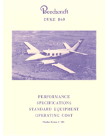 Beech B60 Equipment List 1981