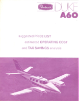 Beech Price List 1973