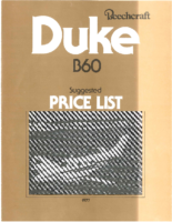 Beech Price List 1977